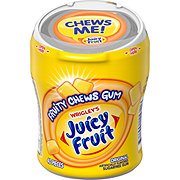 Juicy Fruit Fruity Chews Original Sugarfree Gum, 40 ct bottle