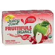 Juicy Juice Fruitifuls Organics Punch Splash Juice Beverage 6.75 oz Boxes