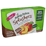 Juicy Juice Splashers Peach Tea