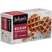 Julian's Recipe Sweet Belgian Waffles Cinnamon