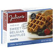 Julian's Recipe Sweet Belgian Waffles, Vanilla