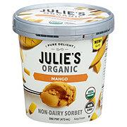 Julie's Organic Non-dairy Mango Sorbet