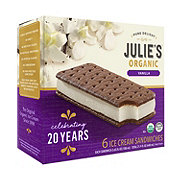 Julie's Organic Vanilla Ice Cream Sandwiches