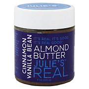 Julies Real Cinnamon Vanilla Bean Almond Butter