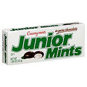Junior Mints Creamy Mints in Pure Chocolate Snack Box
