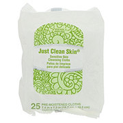 Just Clean Skin Sensitive Skin Cleansing Cloths