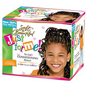 Just For Me No-Lye Conditioning Creme Relaxer Kit, Super