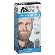 Just For Men Mustache & Beard Light Brown M-25 Brush-In Color Gel