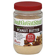 Just Great Stuff Organic Powdered Peanut Butter