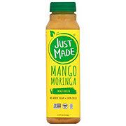 Just Made Mango Moringa Juice