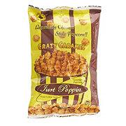 Just Poppin Crazy Caramel Gourmet Popcorn