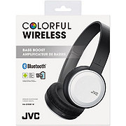 JVC Bluetooth Headphone White