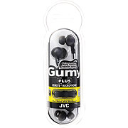 JVC Gummy Plus Black Ear Bud