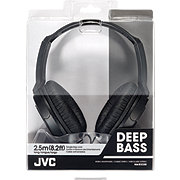 JVC Headphones Full Size Black