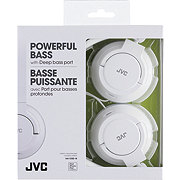 JVC Headphones Light iPhone Compact Slim Plug White
