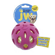 JW Crackle Heads Large Ball, Assorted Colors