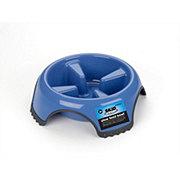 JW Medium Skid Stop Blue Slow Feed Bowl, Assorted Colors