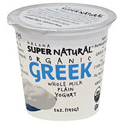 Kalona Organic Whole Milk Plain Greek Yogurt