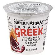 Kalona Pomegranate Orange Greek Yogurt