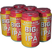 Karbach Big & Bright Grapefruit IPA Beer 12 oz  Cans