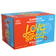 Karbach Love Street Kolsch Style Blonde  Beer 12 oz  Cans