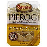 Kasia's Potato and Onion Pierogi