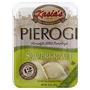 Kasia's Sauerkraut Pierogi