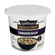 Kathleen's Cinnamon Raisin Quick Oats Cup