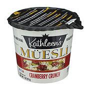 Kathleen's Muesli, Cranberry Crunch