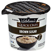 Kathleen's Quick Oats Brown Sugar Oatmeal