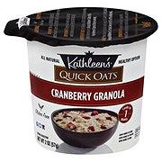 Kathleen's Quick Oats Cranberry Granola Oatmeal