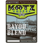 Katz Coffee Organic Bayou Blend Whole Bean Coffee
