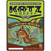 Katz Coffee Organic Jumping Mouse Fair Trade Whole Bean Coffee