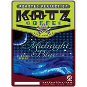 Katz Coffee Organic Midnight Blue Fair Trade Whole Bean Coffee