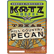 Katz Coffee Texas Hill Country Pecan Whole Bean Coffee