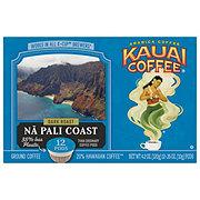 Kauai Coffee Na Pali Coast Dark Roast Single Serve Coffee Cups