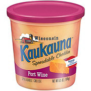 Kaukauna Spreadable Cheese, Port Wine