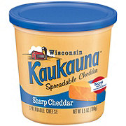 Kaukauna Spreadable Cheese, Sharp Cheddar