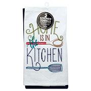 Kay Dee Designs Home Kitchen Embossed Flour Sack Cobalt