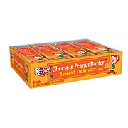 Keebler Cheese & Peanut Butter Sandwich Crackers