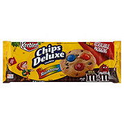 Keebler Chips Deluxe Rainbow Chocolate Chip Cookies with M and M's