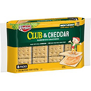 Keebler Club & Cheddar Sandwich Crackers