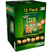 Keebler Club Peanut Butter Bites Sandwich Crackers Caddy Pack