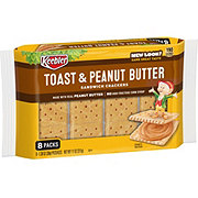 Keebler Toast & Peanut Butter Sandwich Crackers