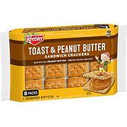 Keebler Toast & Peanut Butter Sandwich Crackers