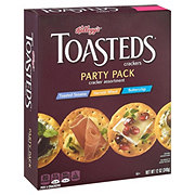 Keebler Toasteds Crackers Party Pack