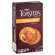 Keebler Toasteds Harvest Wheat Crackers