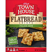 Keebler Town House Flatbread Crisps Italian Herb Crackers