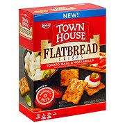 Keebler Town House Flatbread Crisps Tomato Basil & Mozzarella Crackers