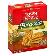 Keebler Town House Focaccia Crackers, Rosemary & Olive Oil
